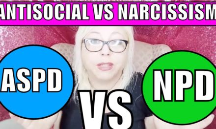 Antisocial Personality Disorder vs Narcissistic Personality Disorder: Si…