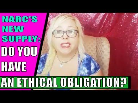Your Ex Narcissist's New Supply: Is there an ethical obligation to warn …