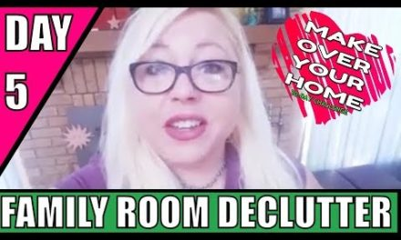 Day 5: The Family Room – 30 Day Decluttering Challenge – Organization/Ho…