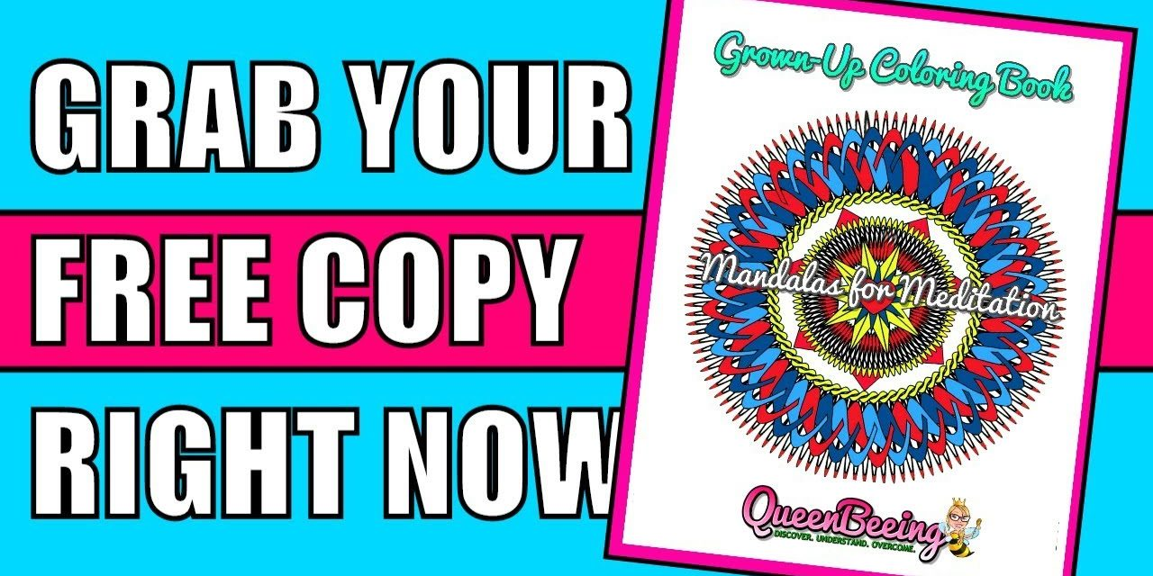 Grab Your Free Mandala Adult Coloring Book for Trauma Recovery (My Gift …