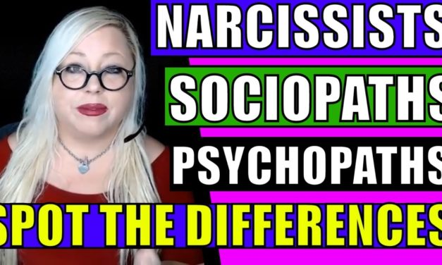 Narcissists, Psychopaths and Sociopaths: Spot the Differences in Cluster…