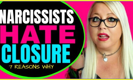 Narcissists NEVER Give You Closure  (7 Reasons Why)