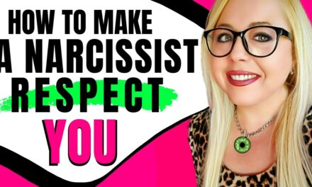 How do you make the narcissist respect you?