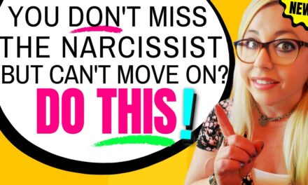 When you don't miss the narcissist, but you're still stressing about wha…